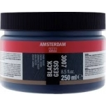 Kruntvärv Gesso Must Royal Talens 250ml