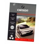 Kartong Canson must A4/180g 10 lehte Auto