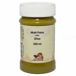 Matt akrüül Olive 100ml Daily Art  DA12144270