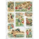 Riisipaber Sea baths VITFIG0008 32 x 45