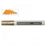 Nerchau Portselan Art Pen Gold 430802